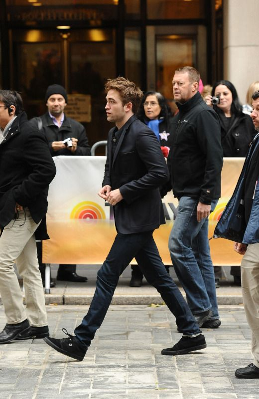 Outside Today Show ~ Nov. 8, 2012--His long looooong legs