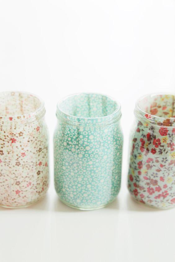 How to decopatch jam jars | Mollie Makes