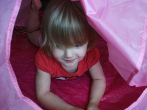 Ein Zelt für Prinzessinnen