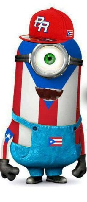 *PUERTO RICAN MINION ~ Despicable Me, 2013