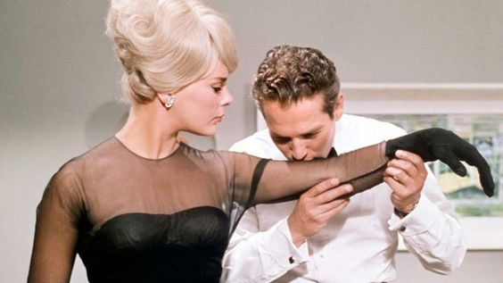 Elke Sommer and Paul Newman ○  The Prize:
