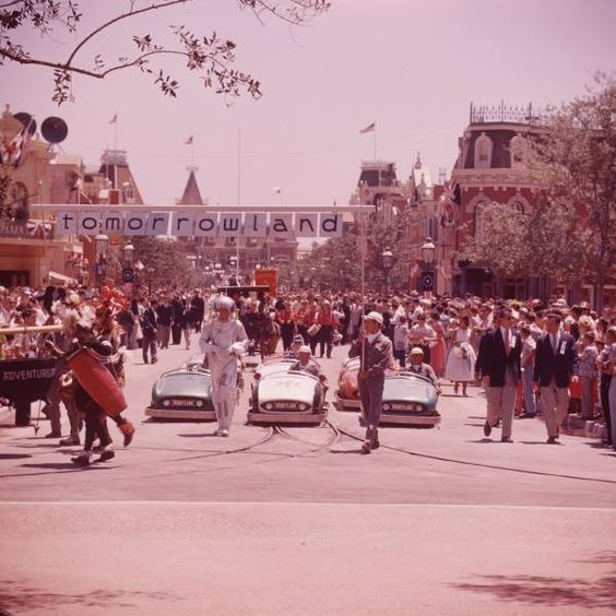 Main Street Parade - Disneyland USA - 1955