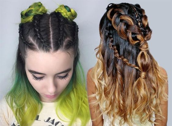 The most popular hairstyles in the 2018-2019 season