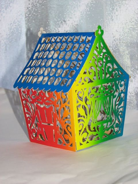 ПЛЮШКИН ДОМ: Радужный домик