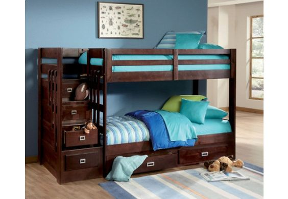 Bed Storage Under Bed And Staircase Bunk Bed On Pinterest
