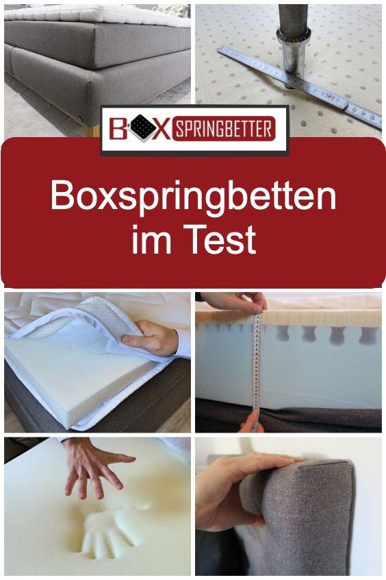 Jetzt Aktuelle Testberichte Lesen Boxspringbetten Schlafzimmer Einrichten Boxspringbett Boxspringbett Test Bett
