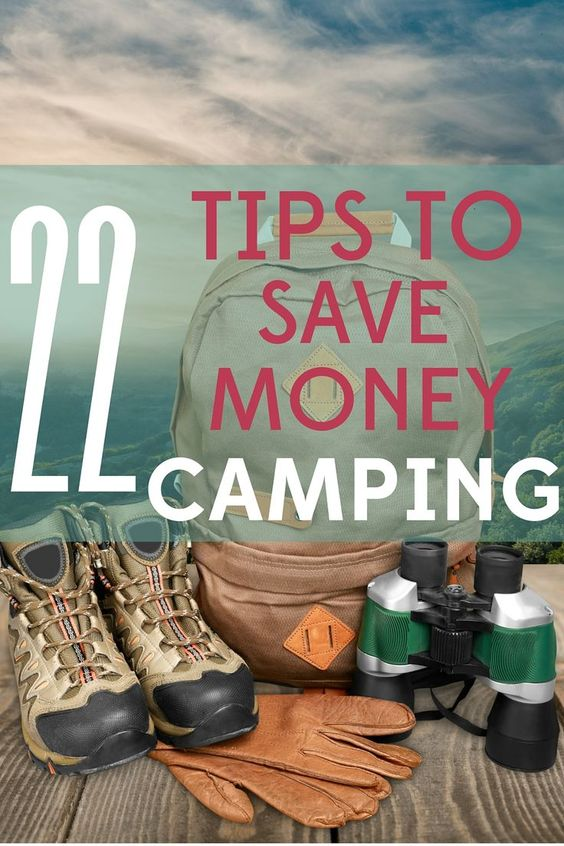 tips to save money  camping and frugal on pinterest