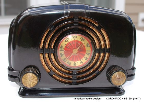 American Radio Design - Greg Mercurio - Deco-Mid Century & Retro Styled…
