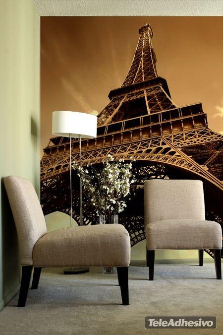 papier peint vinyle tour eiffel papier peint vinyle top. Black Bedroom Furniture Sets. Home Design Ideas