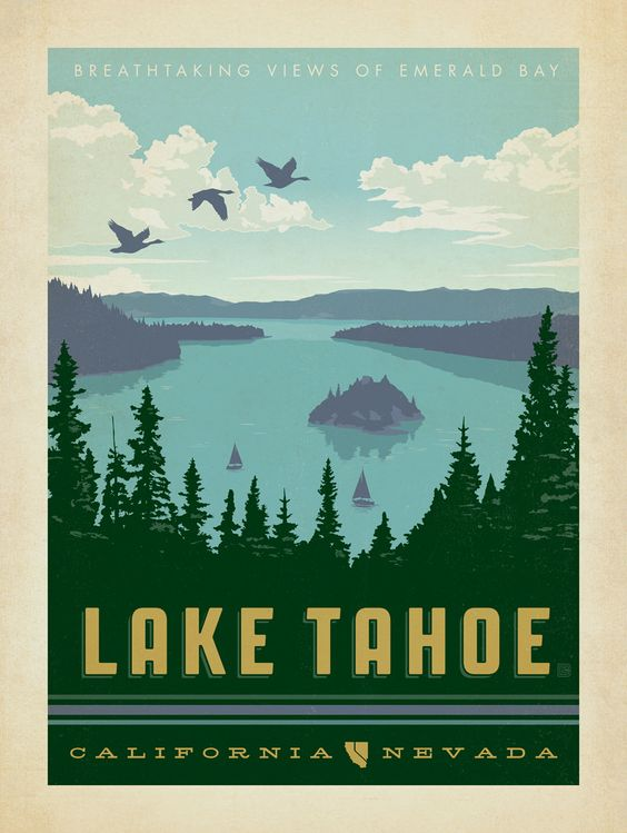 Lake Tahoe Lakes And Nevada On Pinterest