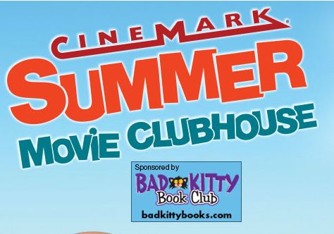 Cinemark Movie Clubhouse 2014 - a must have on our summer to do list!