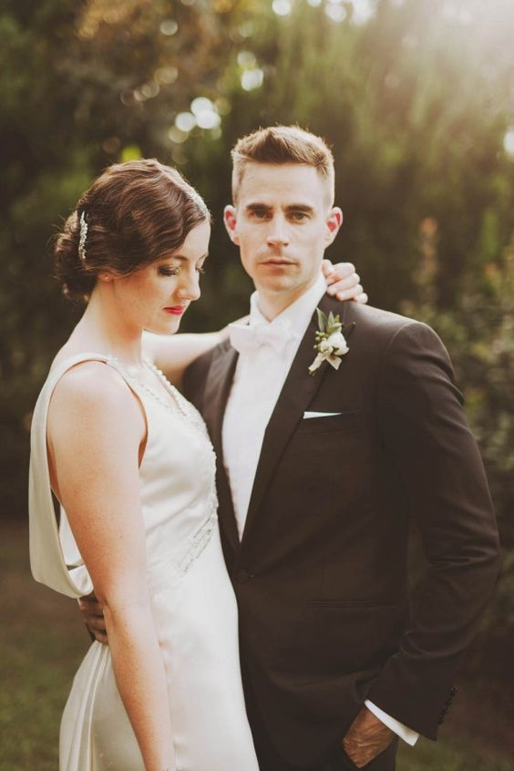 Art Deco Wedding at the Nasher Sculpture Center | Photo by Nessa K Photography