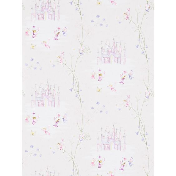 Buy Sanderson Fairy Castle Wallpaper, Vanilla, DLIT214047 Online at johnlewis.com