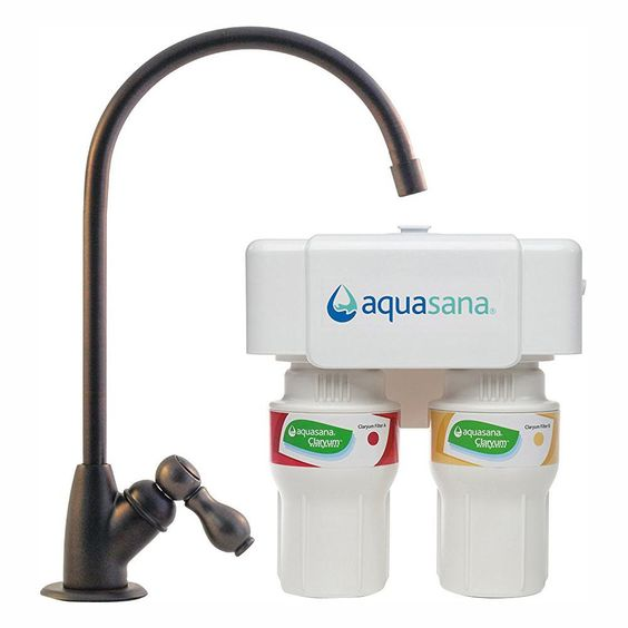 Aquasana 2 Stage Under Counter Water Filtration System With Oil