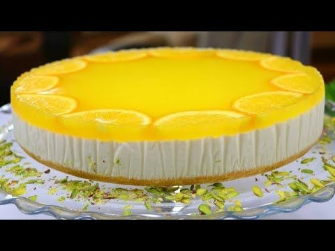 Gateau A L Orange Froid Sans œufs Et Un Four Qui Rivalise Avec Le Cheesecake A L Orange Froid Pret A Youtube Desserts Orange Cake Cheesecake Cupcakes