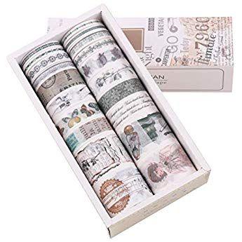 schizzi 20 pcs Washi tape Lychii tape decorativo coprente per lavoretti di fai da te Rosso diari biglietti