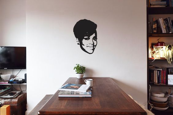 Rihanna - Vinyl Wall Decoration on Etsy, £9.00