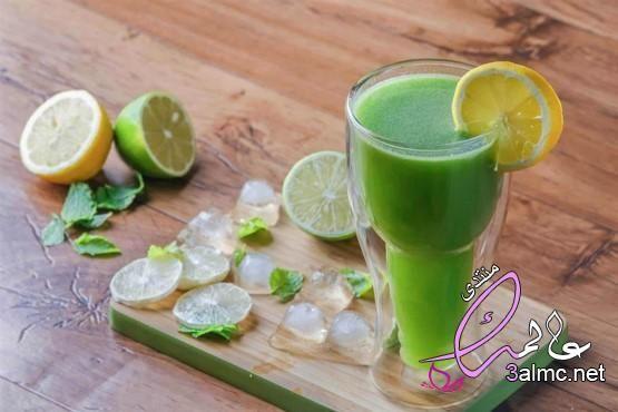 طريقة عمل عصير الليمون بالنعناع مثل المطاعم طريقة عصير ليمون بالنعناع لذيذ الليمون بالنعناع Fruit Lime Food
