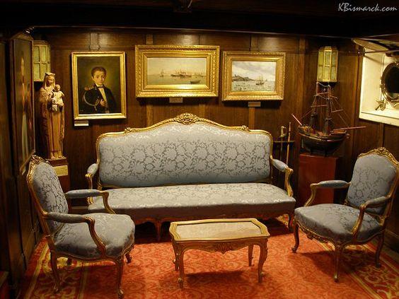 #Camarote del Almirante Guillen. Museo #Naval.