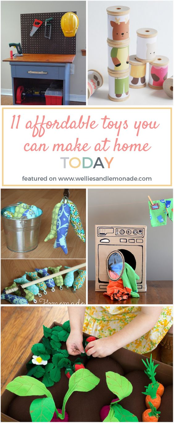 I love making toys at home, they turn out to be so much fun and for a fraction of the cost. Click through to read now or pin for later. Find more handmade toys over at http://welliesandlemonade.com