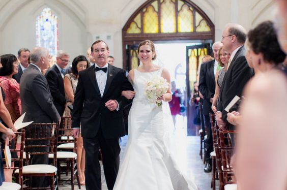 Bride & her Father. Planner: Cherry Blossom Events // Photographer: Alisandra Photography