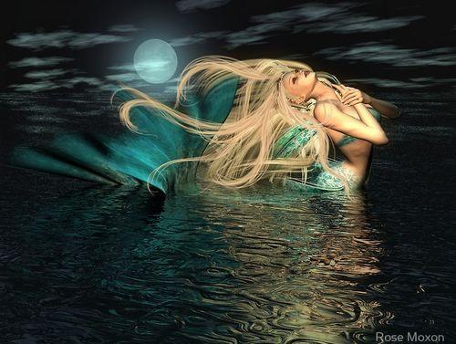 Blonde Mermaid 94