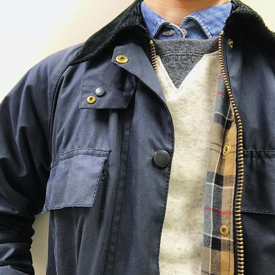 nice 30 Stylish Barbour Jacket Ideas - The Top Notch Outerwear Check more at http://stylemann.com/best-barbour-jacket-ideas/