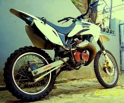 kumpulan motor rx king modif trail