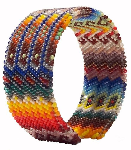 Peyote stitch, Sioux and Stitches