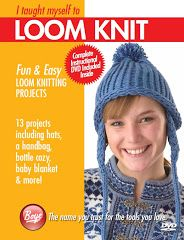 I Taught Myself to Loom Knit (2010), projects by Brenda Myers