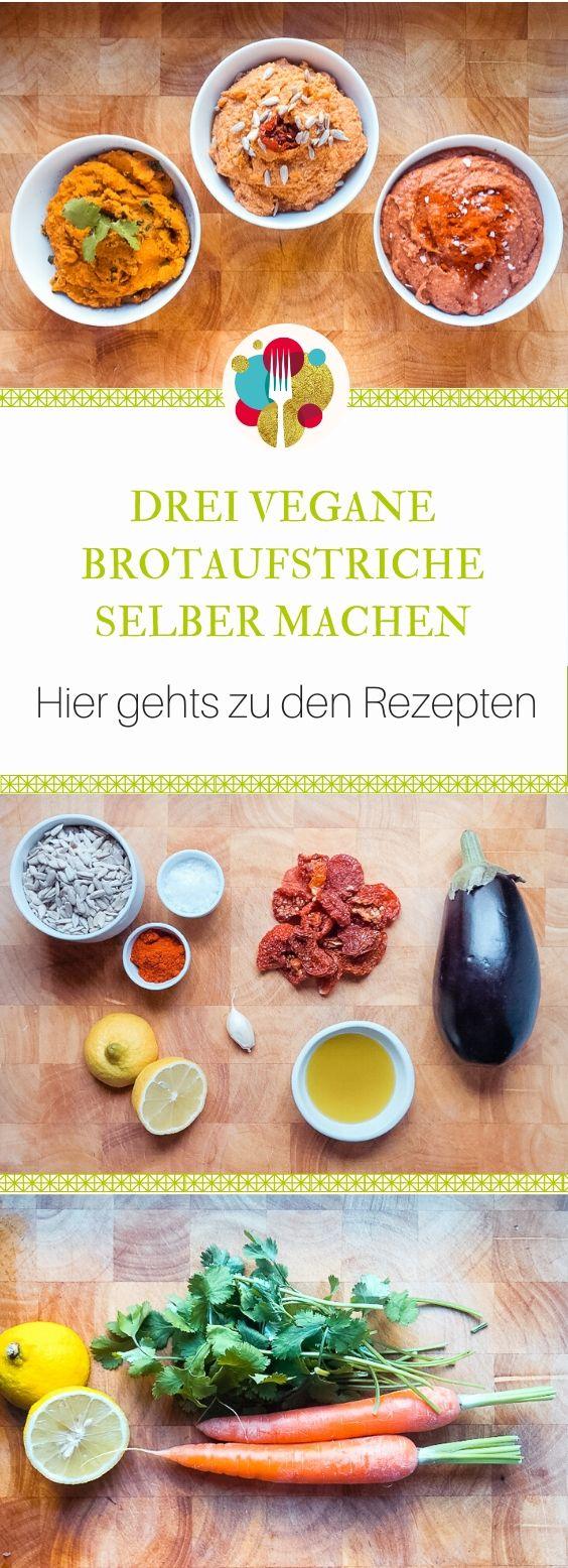 Veganer Brotaufstrich   20 Ideen + 20 Varianten in rot ❤️ in 20 ...
