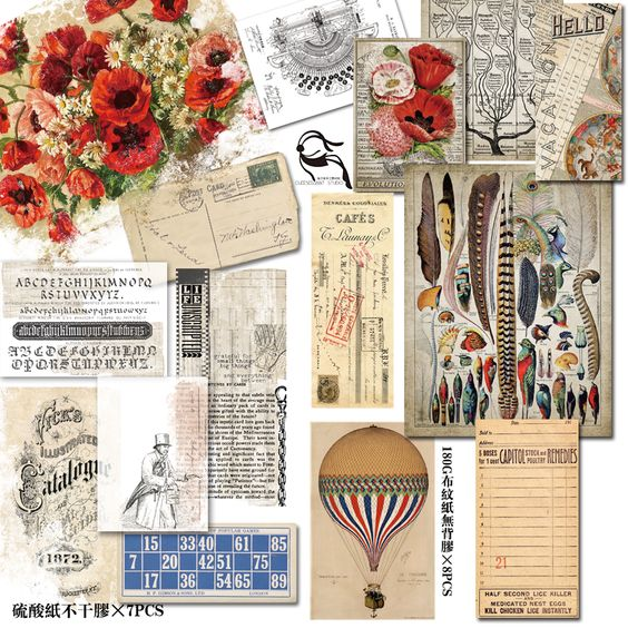 Cheap Stickers, Buy Directly from China Suppliers:ZFPARTY 50pcs Vintage Mechanical Drawing Vellum Stickers for Scrapbooking Happy Planner/Card Making/Journaling Project