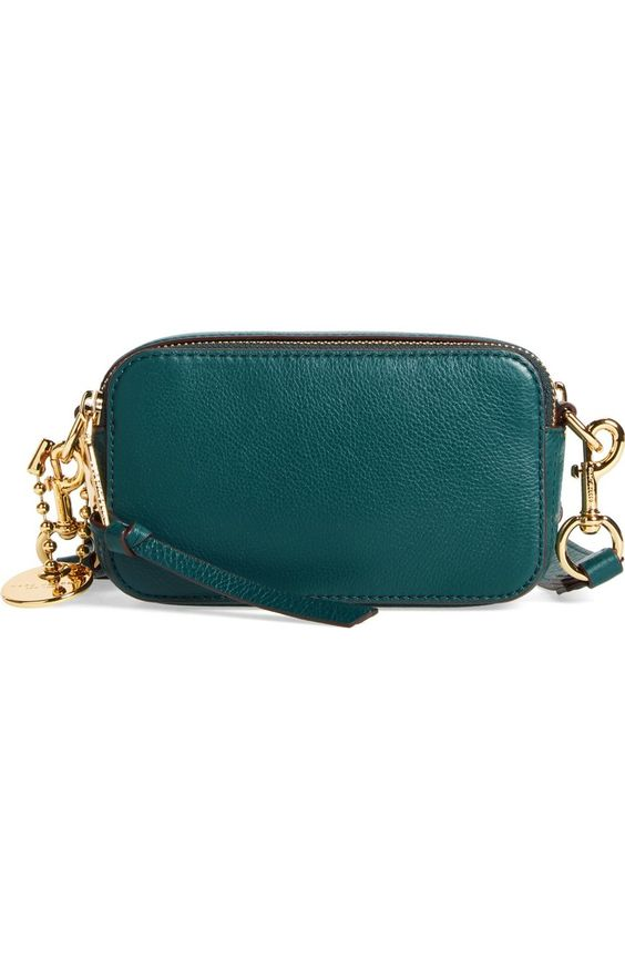 Marc Jacobs Recruit crossbody bag in Teal