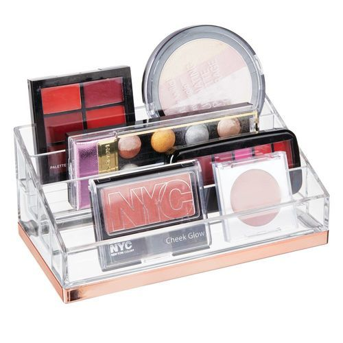 4 Tier Plastic Makeup Cosmetic Storage Organizer Cosmetic