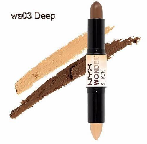NYX Wonder Stick Highlight and Contour Stick Beauty Makeup Color - 03 Deep