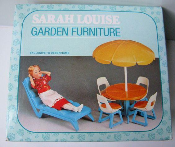 Vintage Debenhams Sarah Louise Garden Furniture for 6.5\