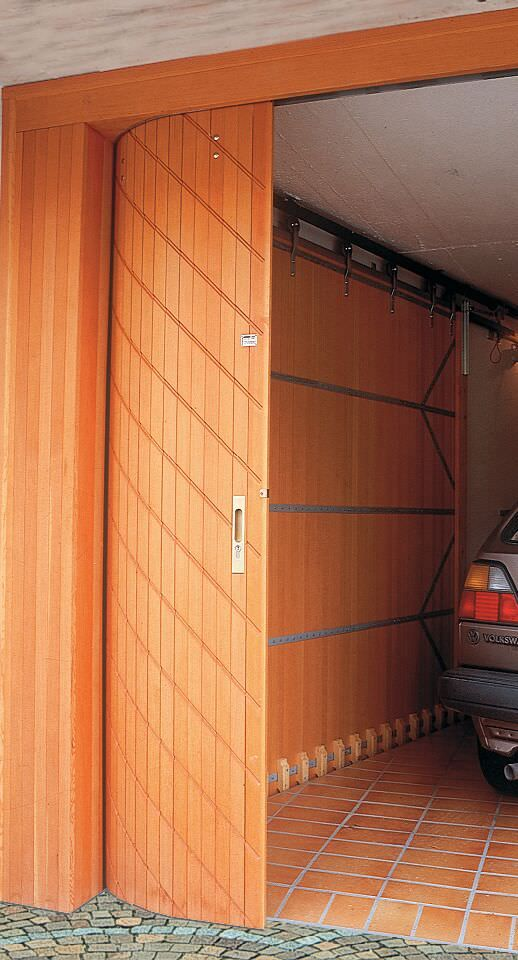 Side Sliding Garage Doors Save Overhead Space With Images