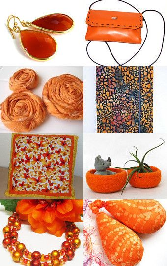 Sunset Orange Gift Guide by Bonnie's Sew Crazy