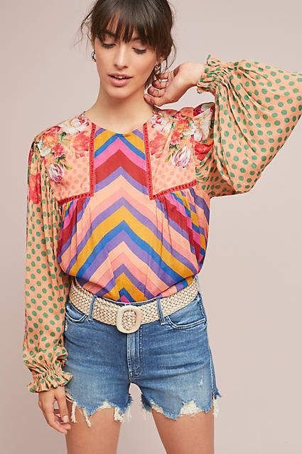 Inspirational Colorful Blouses