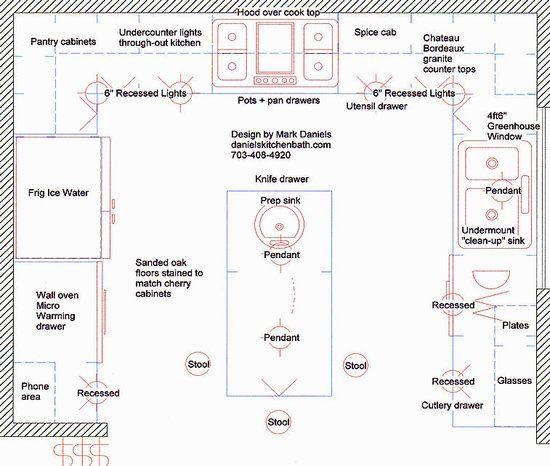 U Shaped Small Kitchen Layout Design   1308 Kitchen   Pinterest