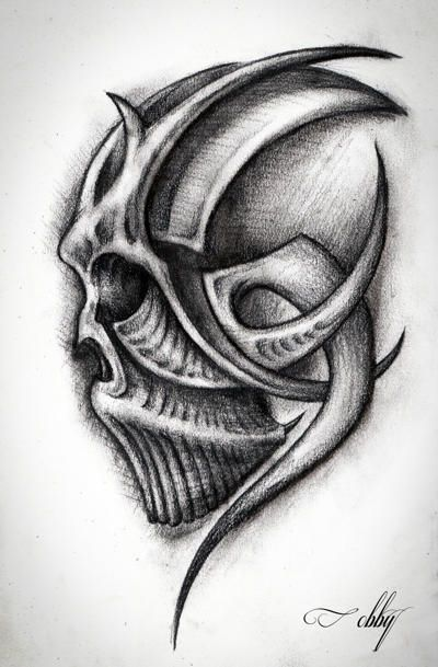 Learn how to draw skulls step by