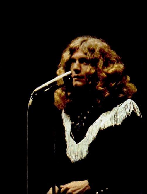 """Robert Plant, 1972. """