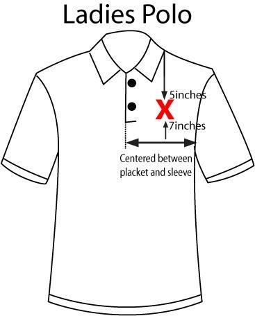 Monogram placement diana smith pinterest graphics for Dress shirt monogram placement