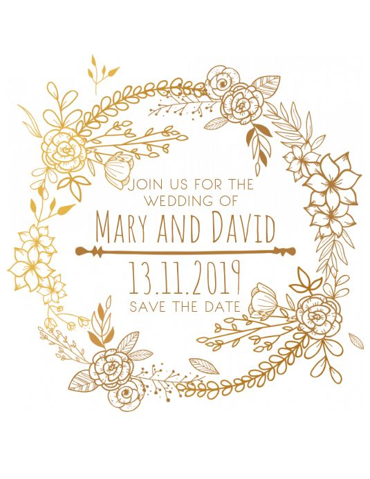 330 Wedding Announcement Customizable Design Templates Postermywall Save The Date Templates Save The Date Cards Save The Date