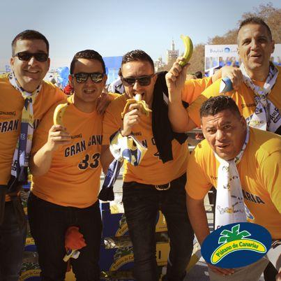 A todo el mundo le gusta el sabor de nuestros plátanos, ¡pero especialmente a los canarios!