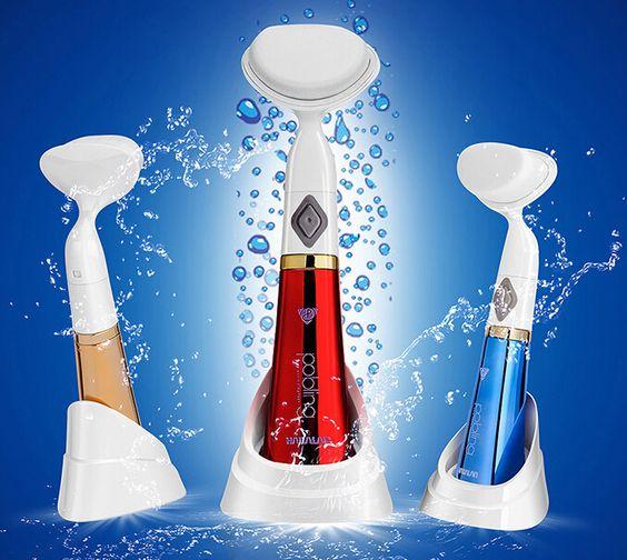 Encontre mais Cuidados com a pele Informações sobre Pobling escova de lavagem elétrica limpeza dos poros de limpeza facial, de alta qualidade brush classic, brush motor China Fornecedores, Barato brush logo a partir de Dan Beauty Store em Aliexpress.com