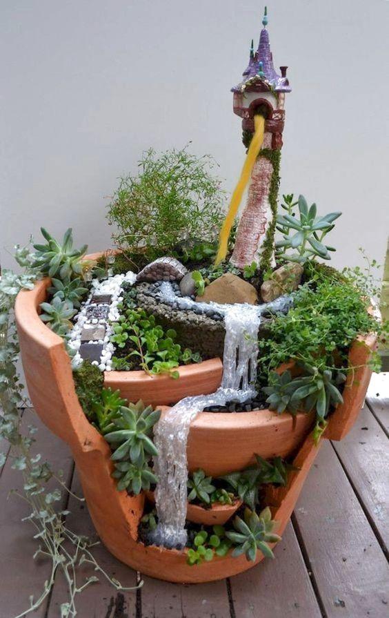 ✔40 Best Indoor Fairy Garden Ideas #IndoorFairyGarden