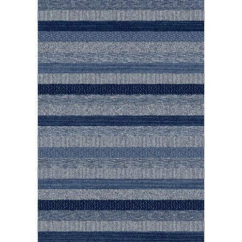 Found it at AllModern - Infinity Blue Area Rug