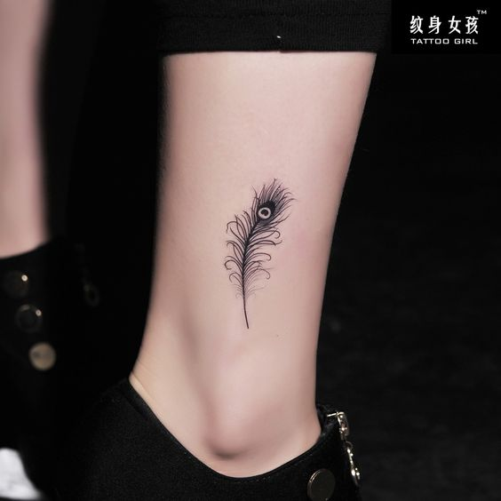 Aliexpress.com : Buy Girl tattoo stickers waterproof Women peacock feather tattoo stickers from Reliable tattoo sticker suppliers on TGLOE. $8.51