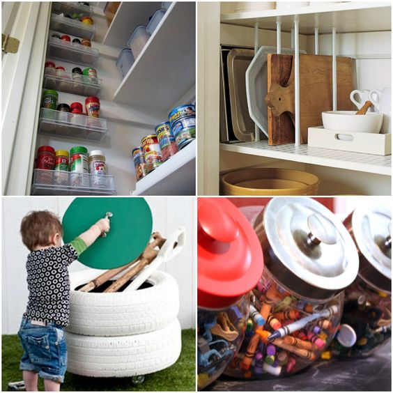 Get Organized: 25 Totally Clever Storage Tips